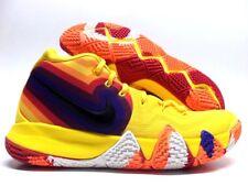64e54558136e Nike Kyrie 4 70s Mens 943806-700 Amarillo Orange Red Basketball Shoes Size  10.5