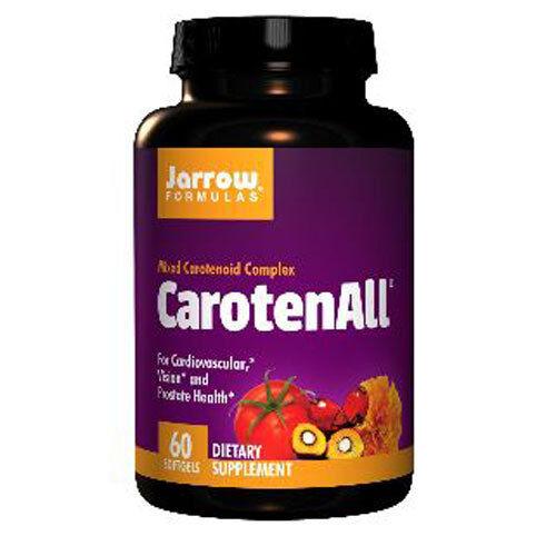 CarotenALL, 60 SoftGels, Heart, Eyes, Prostate Health, Jarrow Formulas