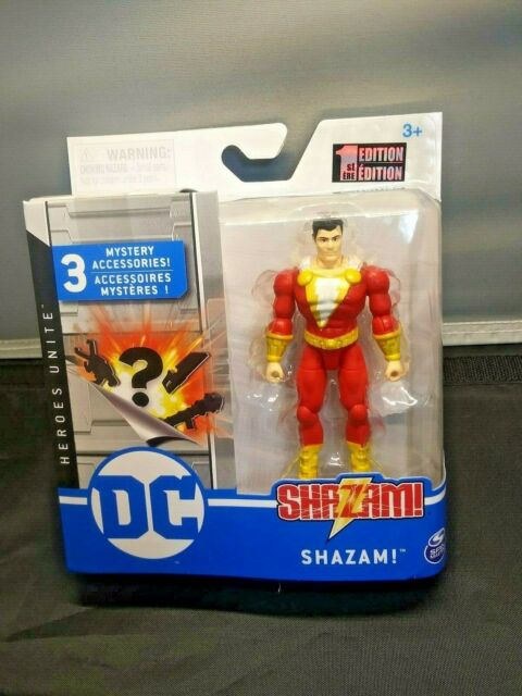 Spin Master DC Heroes Unite 4 Inch Action Figure Shazam 1st Edition for sale online