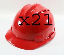 New Listing21 New Standard S62 Red Bullard Safety Type I Class C Lt Ht Ratchet Hard Hat Cap