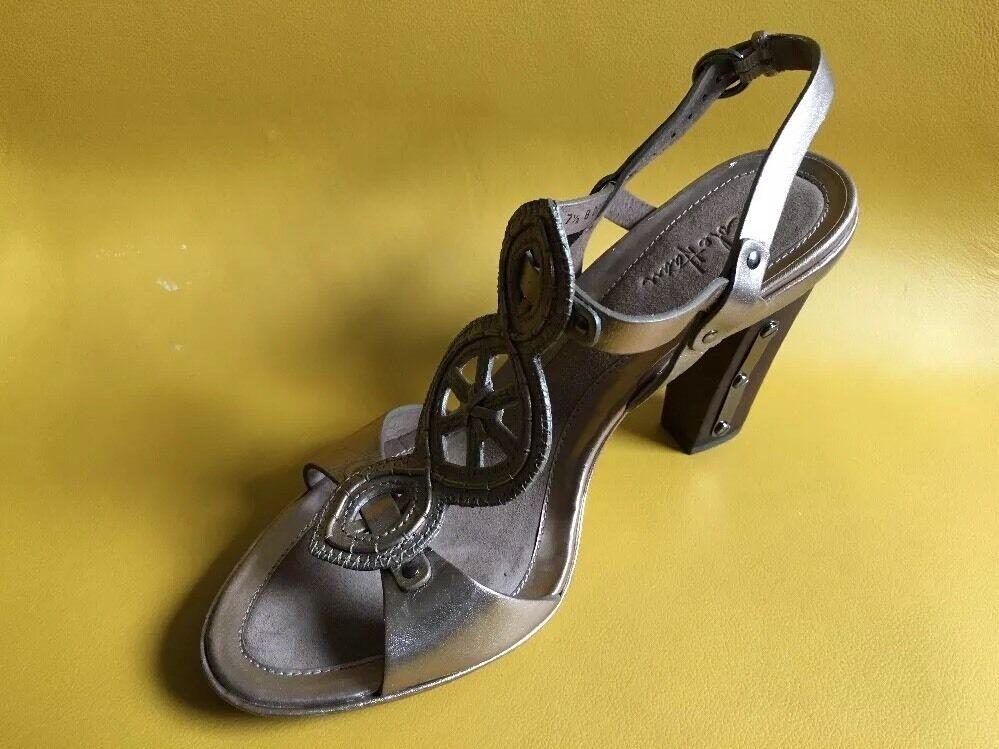New Cole Haan Wooden High Heel Sandals Left 7B right 7.5 B