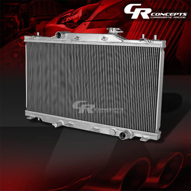 New Csf Radiator Acura Rsx 2006 2005 2004 2003 2002 2965: FULL ALUMINUM RACING 2-ROW RADIATOR FOR 2002-2006 ACURA