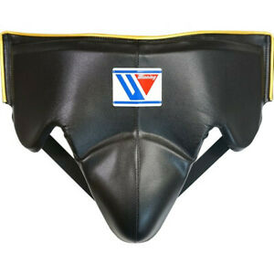 Winning Boxing Groin Cup protector Black x Gold M from JAPAN FedEx with tracking