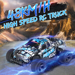 1:20 48km/h High Speed Remote Control Car RC Electric Monster Truck OffRoad
