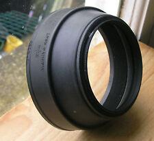 Mamiya Rb67 flexible rubber  77mm screw in  Lens hood m77