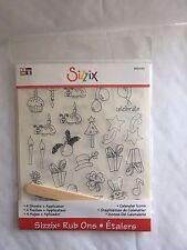 Sizzix Rub Ons - Calendar Icons