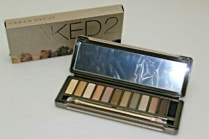 Urban-Decay-Naked-2-Eyeshadow-Palette-12-shades-Brush-NEW-In-Box