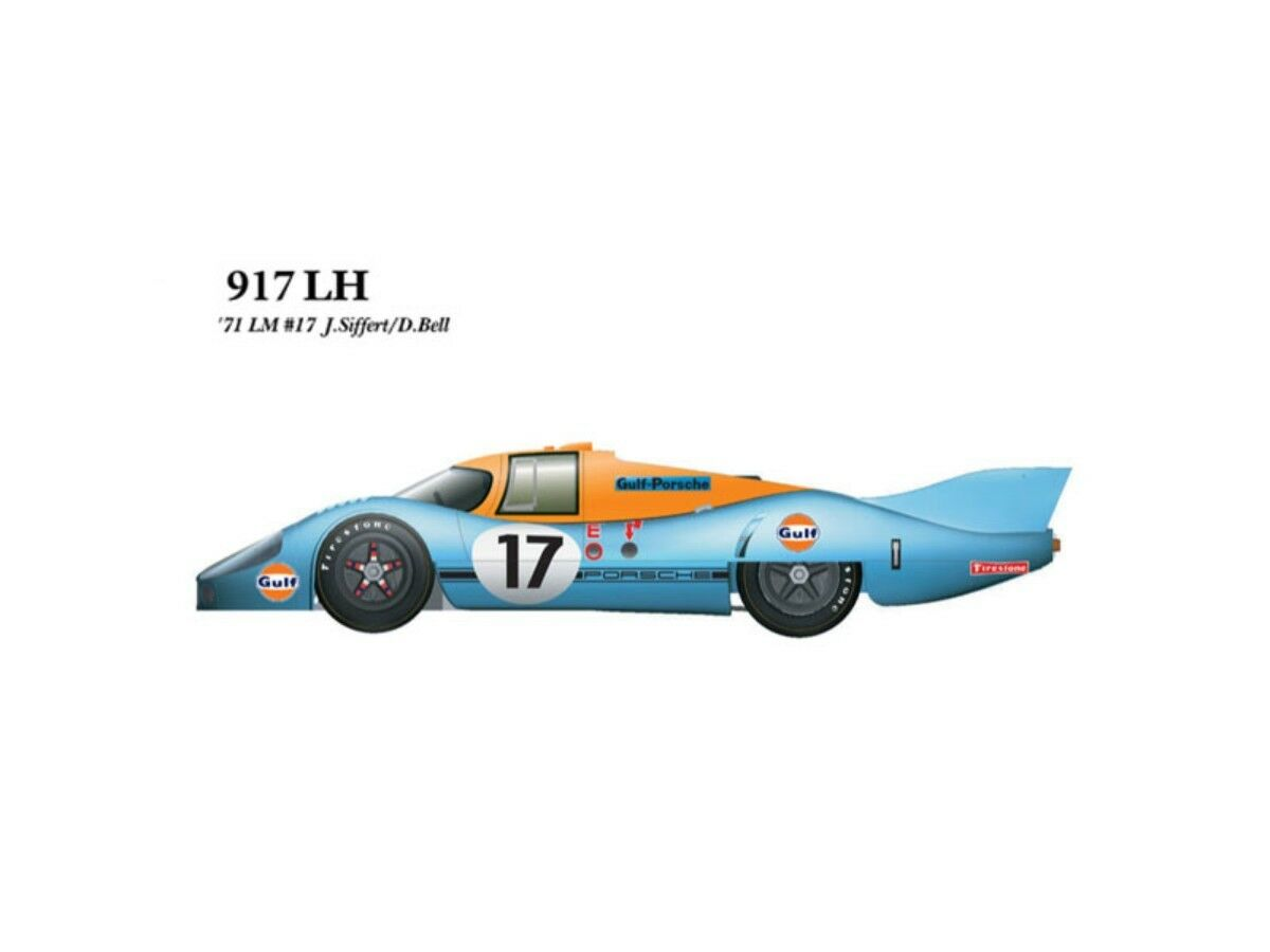 Modell - fabrik hiro 1   43 917 lh ver. 1971 le mans 24 fulldetail kit k-348