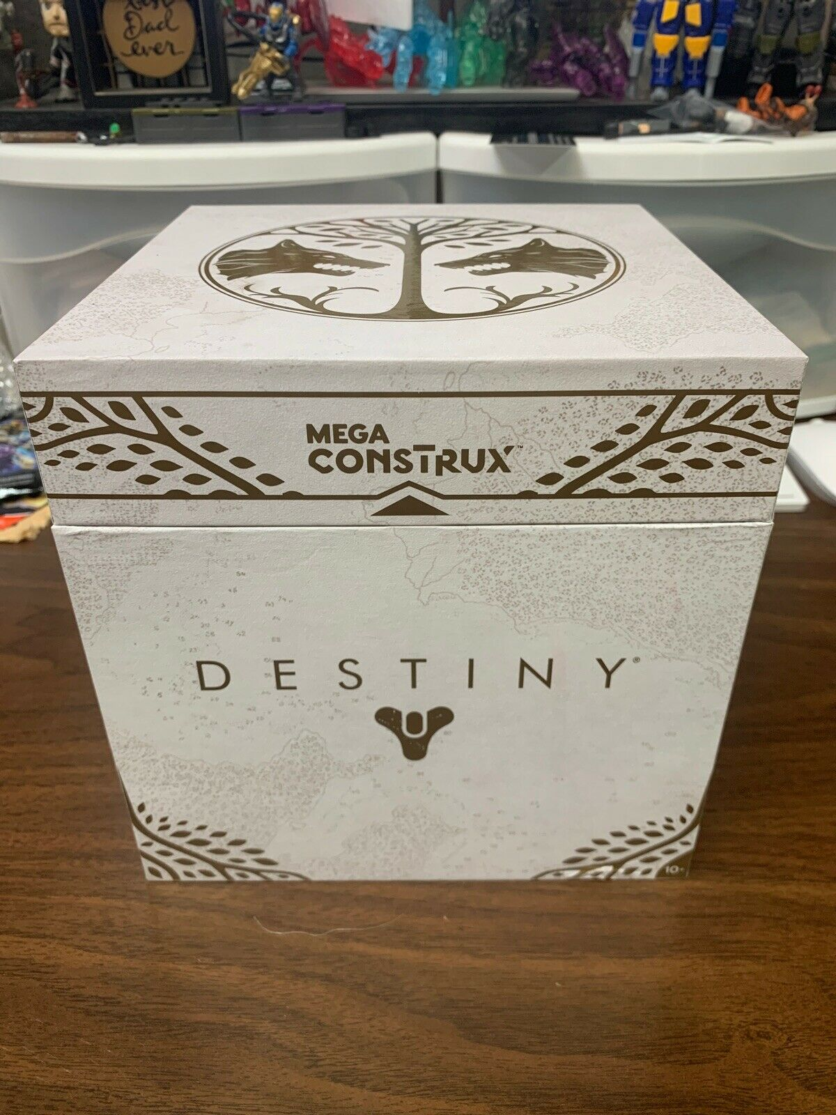 Mega Bloks Construx Destiny Iron Song Ghost Shell SDCC Exclusive  NEW