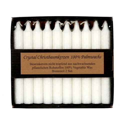 20 par coloré Savonnerie baumkerzen Ø 13 mm-Cire Bougies