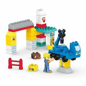 Mega Bloks Bob The Builder Garage Fix-Up Building Kit