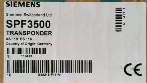 S24218-F14-A1 Siemens Transponder SPF3500