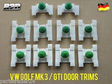 VW GOLF MK3 / GTI / VENTO DOOR MOULDING TRIM CLIPS