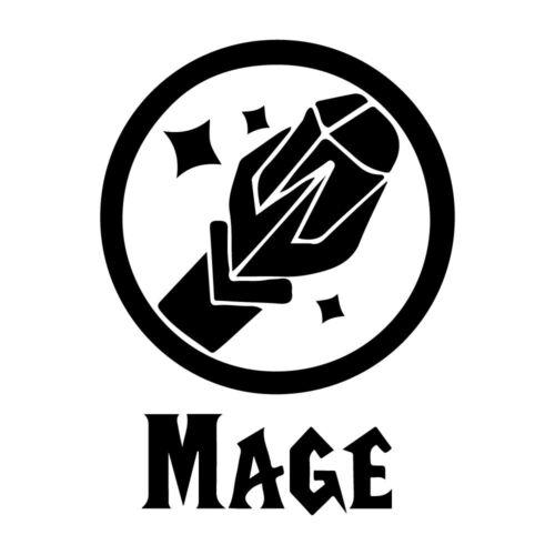"""5.5/"""" WoW Mage Autocollant Vinyle Autocollant Voiture Fenêtre Ordinateur Portable World of Warcraft Magic"""
