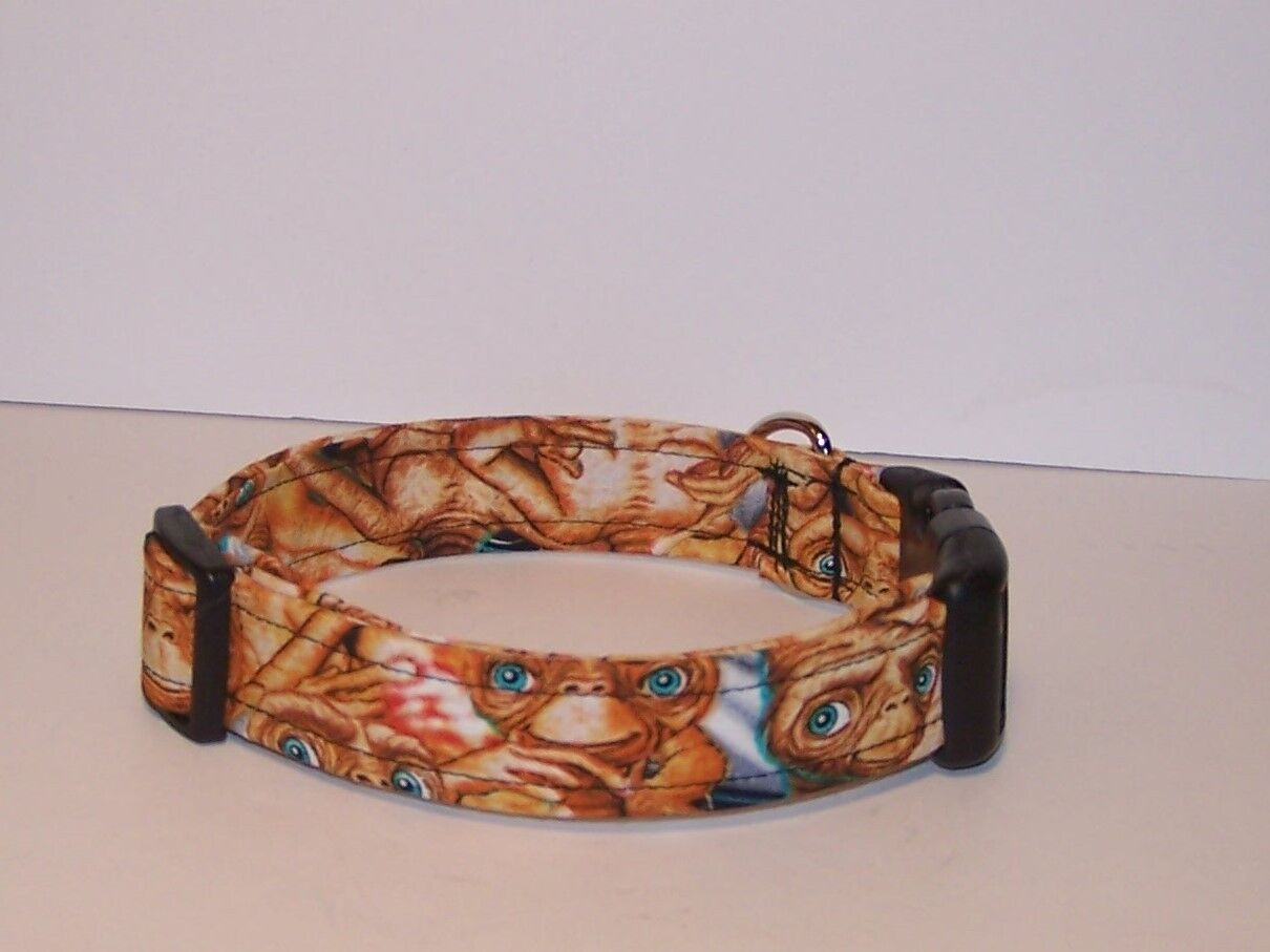 The Extraterrestrial Themed Dog Collar Space Alien ET Wet Nose Designs E.T