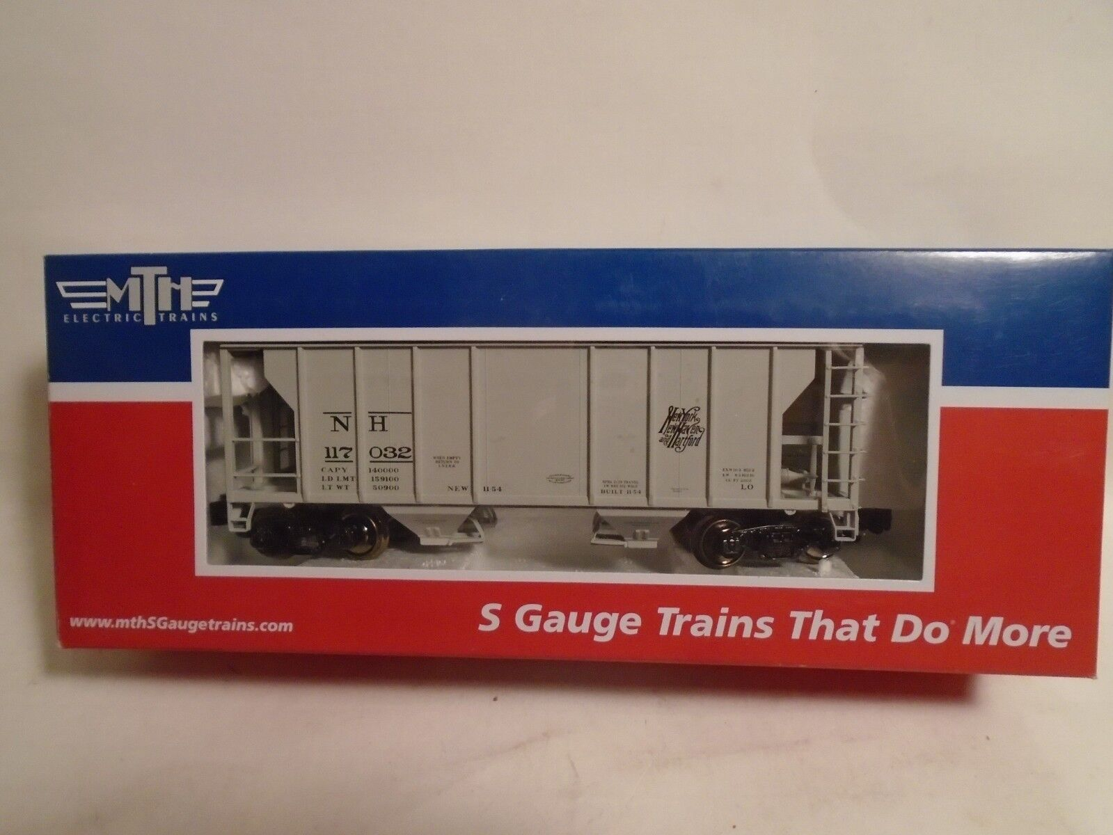 MTH S SCALE NEW HAVEN PS-2 COVERED HOPPER NEW IN BOX