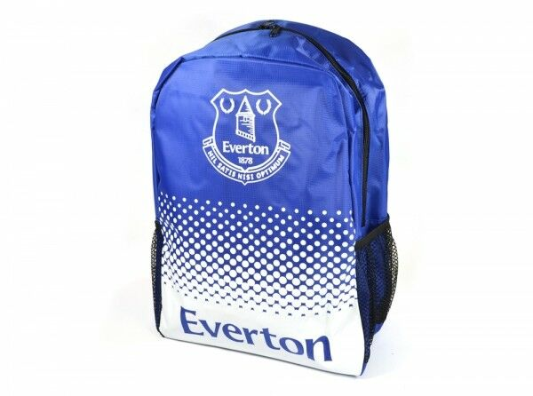 Everton Football Club Bleu Fade Design Backpack Fan École Officielle