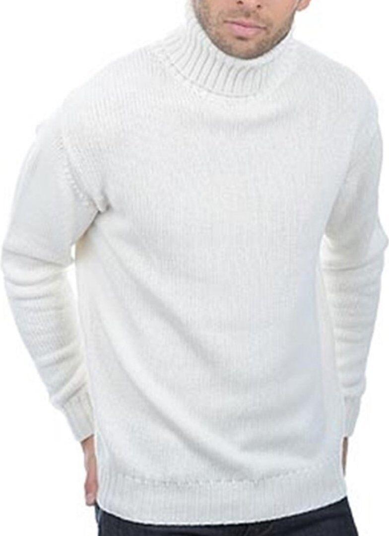 Balldiri 100% Cashmere Kashmir DOLCEVITA 10-fädig Bianco XXXL