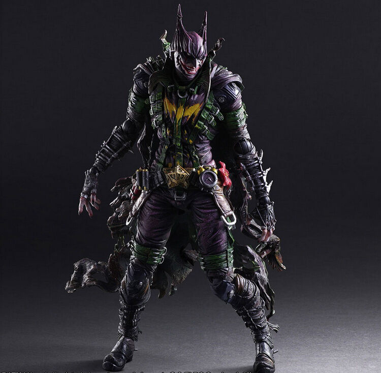 Play Arts Kai Batman: Rogues Gallery Joker Action Figure Toy Doll  26cm
