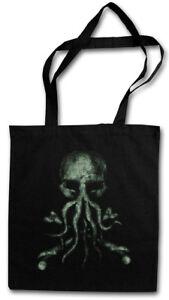 CTHULHU BONES STOFFTASCHE Wars Horror Arkham Miskatonic Lovecraft Dunwich