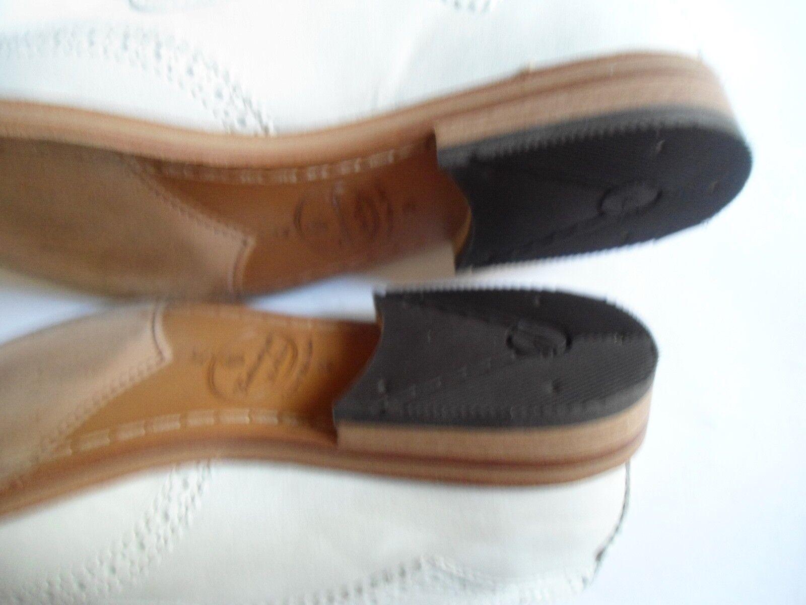 H by Hudson Damen Schuhe Größe Brogues 39 neuwertig Leder Budapester Brogues Größe hellgrau a6daf3