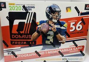2020-DONRUSS-FOOTBALL-MEGA-BOX-AUTO-RELIC-PER-BOX-Tua-Burrow