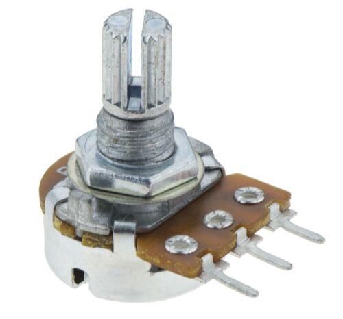 2k 16mm Lineal Estriado potenciómetro Pot