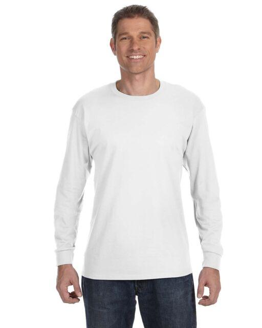 b56023e0fa1 Buy Hanes Men s ComfortSoft Long Sleeve T-shirt Yellow S online