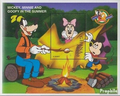 Expressive Ghana Block357 complete Issue Never Hinged 1998 Walt-disney-f To Win A High Admiration And Is Widely Trusted At Home And Abroad. Unmounted Mint