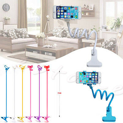 Universal Lazy Bed Desktop Stand Mount Car Holder 360° Stand Clip for Cell Phone