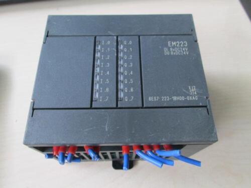 Siemens EM223 DI DO 8xDC24V 6ES7 223-1BH00-0XA0 Module