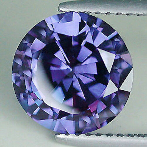 AAA Rated Round Bright Purple Blue Genuine (Natural) Iolite (2mm-7mm)