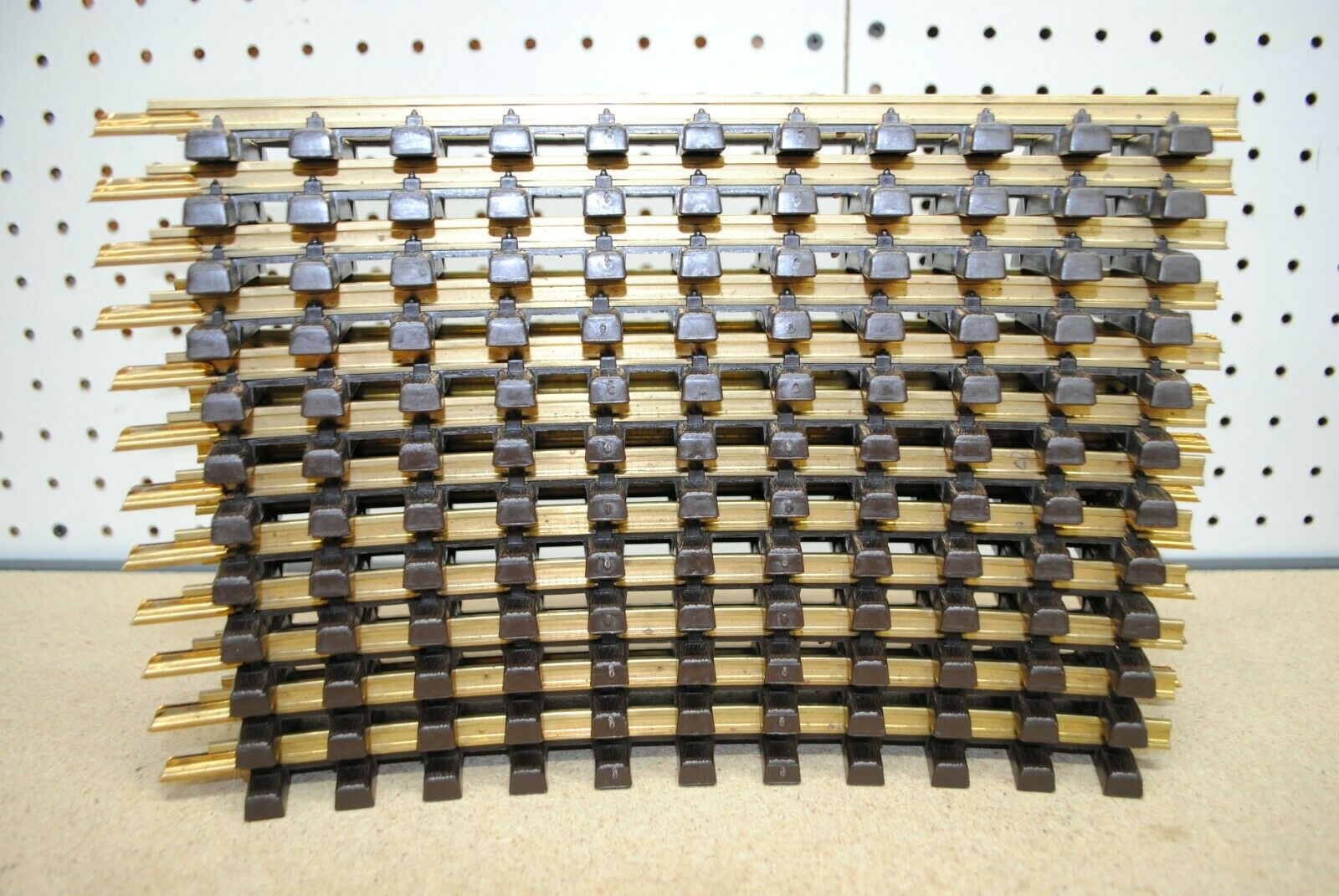 LGB 11000 1100 x 12 Curved Brass Track 30° r600mm R1 GScale Christmas