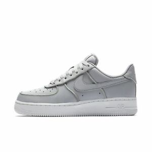 Details zu Nike Air Force 1 Low Glitter wolf Grau Damen AT0073 002 Schuhe Neu Gr.44 Sneaker