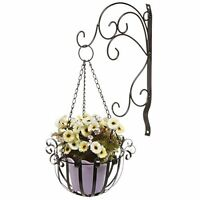 Hanging Planter Wall Mounted Plant Flower Pot Basket Holder Display Home Decor