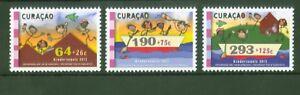 Curacao-2012-Jugendmarken-Kinderzeichnungen-Kinderzegels-Nr-129-31
