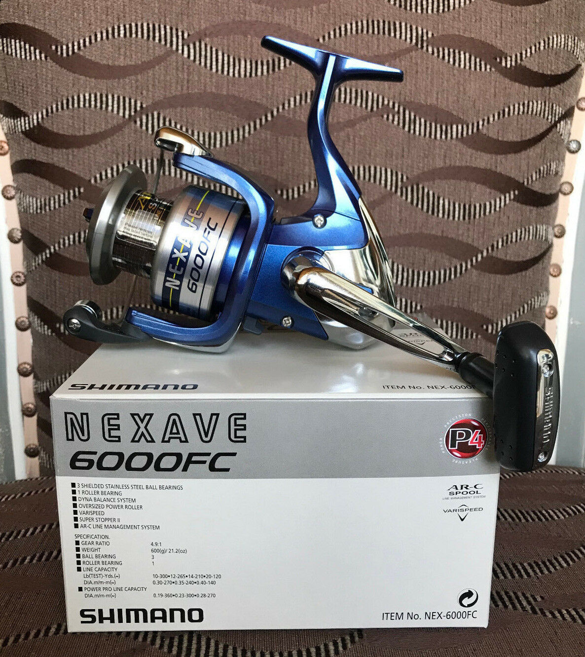 Shimano nexave 6000 FC spinnrolle