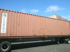 Used 40 High Cube Steel Storage Container Shipping Cargo Conex Seabox Charlotte