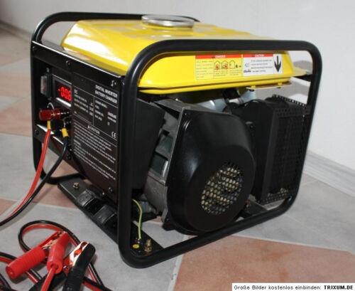 12 V Volt 60 A Ampere Stromgenerator Notstromaggregat Stromerzeuger leise leicht