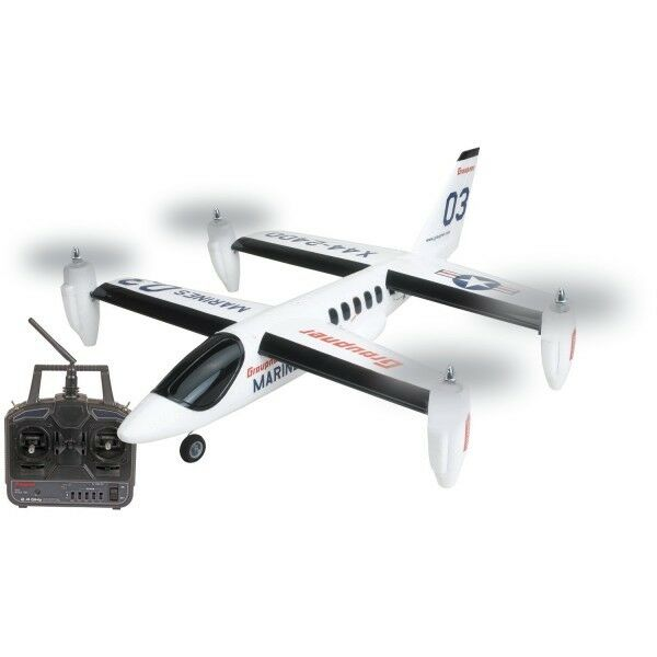Wp Rc-Modèle Miniature Avion Électrique X44 X44 X44 RTF 695 mm à Décollage Vertical a9cef0