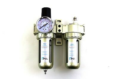 "Lubricator Regulator For Air Tools oiler Ambitious Pcl 1/2"" Air Filter Compressor"