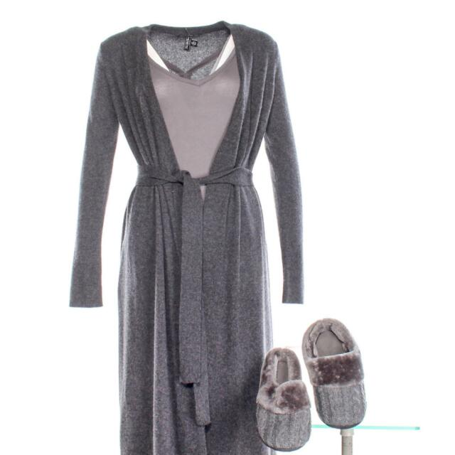 House of Cards Hannah Conway Screen Worn Saks Robe Nightgown & Shoes Ep 412