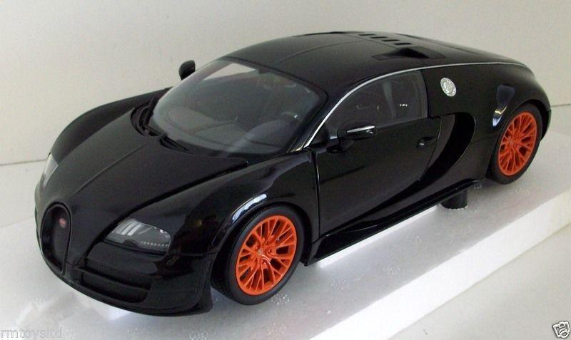 Minichamps 118  100 110842 Bugatti Veyron Super Sport  2011 NERO METtuttiIZZATO