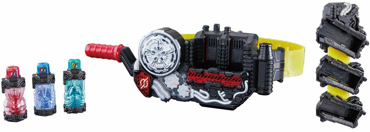 Bandai Kamen Rider Build DX Build Build Build Driver & Full Bottle Holder Set - 0fffcf