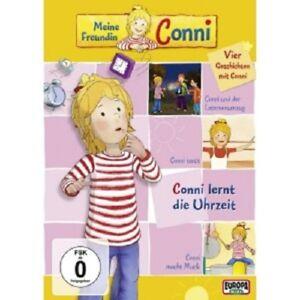 MEINE FREUNDIN CONNI - 03/CONNI LERNT DIE UHRZEIT/CONNI TANZT/+  DVD NEUF