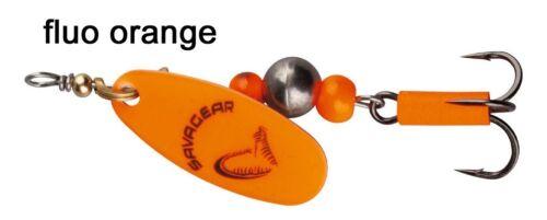 Spinnköder für Forelle Kunstköder zum Spinnfischen Savage Gear Caviar Spinner