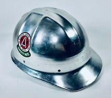 Vintage Jackson Products Co Aluminum Hard Hat Construction Safety Equipment Usa