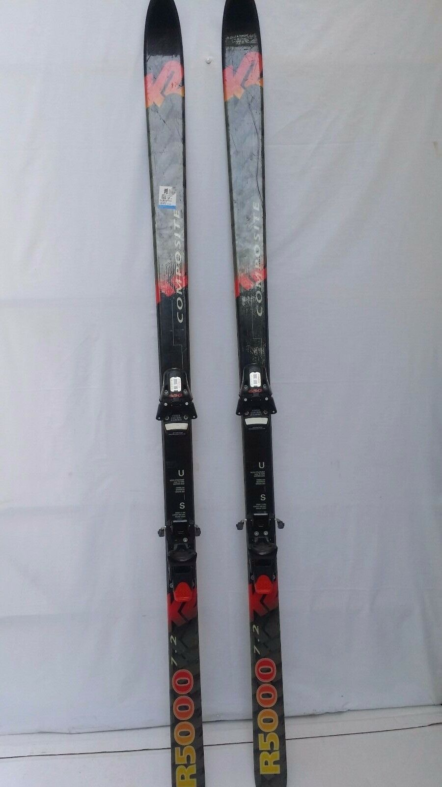 K2 R5000 7.2 Skis Composite   Tyrolia 650 Bindings