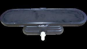 Membranbelüfter//Plattenbelüfter Anschlussfertig 215x675 mm inkl Betonfuß