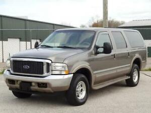 2002 Ford Excursion Limited 4x4 4wd 7 3l Turbo Diesel Remote Start Ebay
